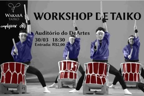 workshop de taiko